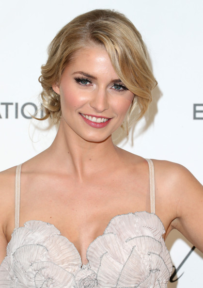 More Pics of Lena Gercke Evening Dress (1 of 6) - Lena Gercke Lookbook - StyleBistro