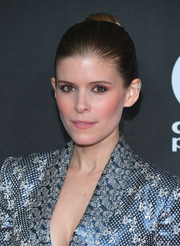 Kate Mara styled her hair into a classic bun for the Hollywood Film Awards.