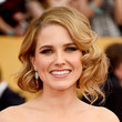 Sophia Bush's Pinned Faux Bob and Natural Makeup