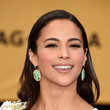 Paula Patton's Silky Strands and Glossy Lips