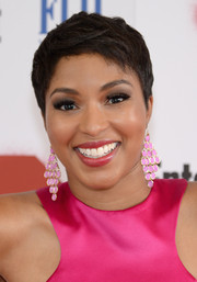 Alicia Quarles sported a cute pixie at the New York screening of '22 Jump Street.'