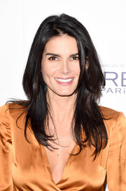 Angie Harmon looked fab at the Elle Women in Hollywood Awards wearing this face-framing layered cut.