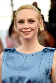 Gwendoline Christie kept it simple with this short, side-parted hairstyle at the SAG Awards.