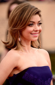 Sarah Hyland styled her hair into a cute flip for the SAG Awards.