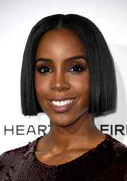We really love this super-sleek bob on Kelly Rowland!