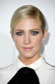Brittany Snow looked elegant with her sleek side-parted ponytail at the Elle Women in Hollywood Awards.