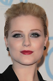 Evan Rachel Wood attended the 23rd Annual Producers' Guild Awards wearing a pair of gemstone stud earrings.