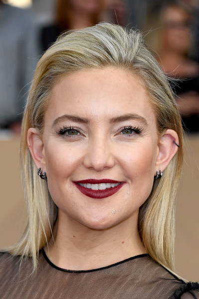Kate Hudson accessorized with multiple diamond hoops by Dana Rebecca Designs.