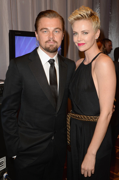 Leonardo DiCaprio pulled his classic look together with a solid black tie at the GLAAD Media Awards.