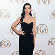 Julianna Margulies in Strapless Black