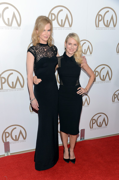 Nicole Kidman and Naomi Watts in Elegant Black