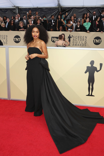 Yara Shahidi in Ralph Lauren Collection