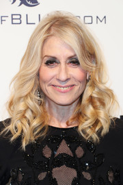 Judith Light looked lovely with her shoulder-length curls at the Elton John AIDS Foundation Oscar-viewing party.