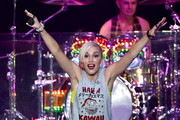 Singer Gwen Stefani of No Doubt performs onstage during day two of the 25th annual KROQ Almost Acoustic Christmas at The Forum on December 13, 2014 in Inglewood, California.