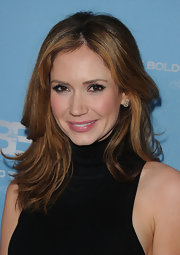 Ashley Jones attended the 25th Anniversary Party for 'The Bold and the Beautiful' wearing her hair in long razored layers.