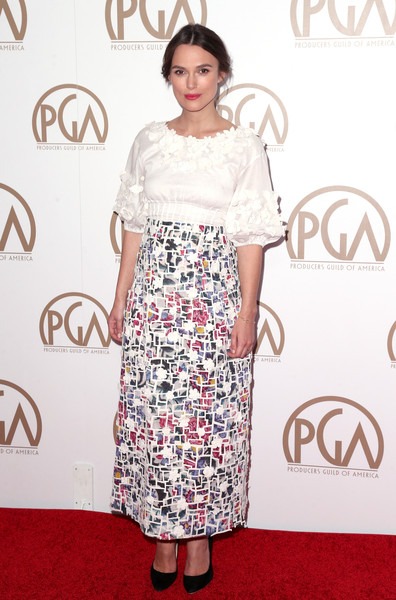 Keira Knightley at the 26th Annual Producers Guild Of America Awards