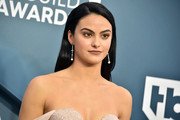 Camila Mendes opted for a simple yet elegant straight side-parted style when she attended the 2020 SAG Awards.