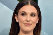 Millie Bobby Brown Long Straight Cut