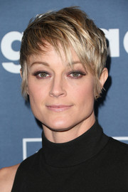 Teri Polo looked oh-so-cool with her messy pixie at the GLAAD Media Awards.