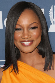 Garcelle Beauvais opted for a super-sleek hairstyle when she attended the GLAAD Media Awards.