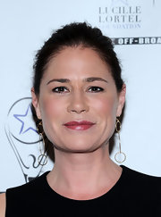 Maura Tierney pulled her hair back in a classic bun for the Lucille Lortel Awards.