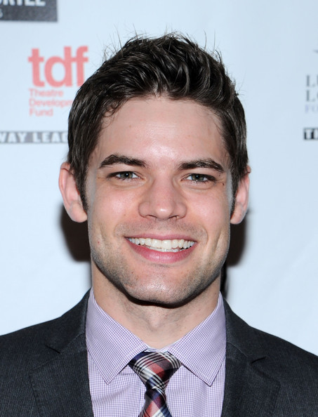 Jeremy Jordan sported a spiked 'do at the Lucille Lortel Awards.