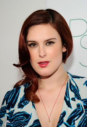 Rumer Willis went for understated glamour with a polished side-swept 'do at the 2nd Annual Autumn Party.