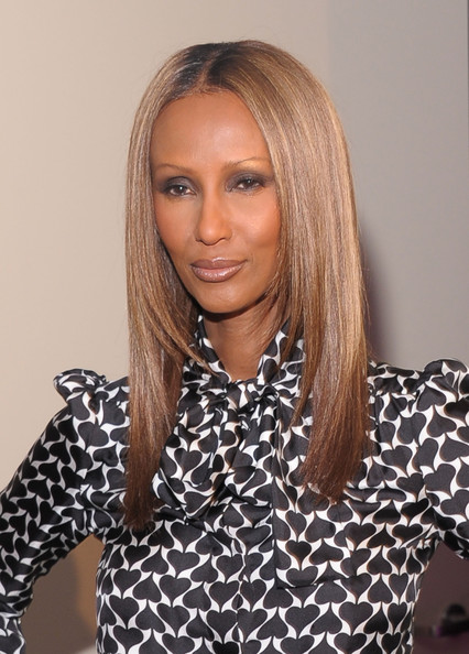 Iman wore a lovely nude lipstick at the 2nd Annual Diller-Von Furstenberg Awards. She kept her makeup look soft and subtle for a perfectly polished look.