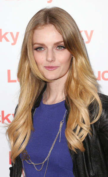 More Pics of Lydia Hearst Long Wavy Cut (1 of 8) - Lydia Hearst Lookbook - StyleBistro