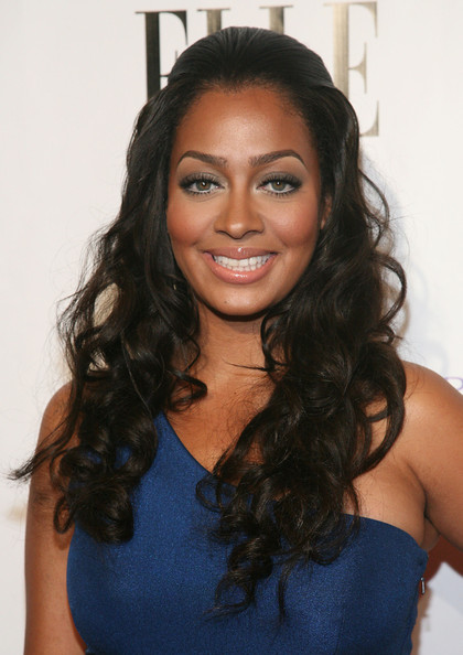 More Pics of La La Anthony Long Curls (1 of 7) - La La Anthony Lookbook - StyleBistro