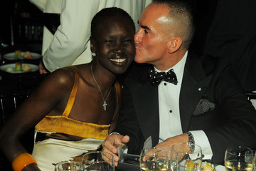 Alek Wek Paolo Diacci 2nd Annual amfAR Inspiration Gala New York - Inside