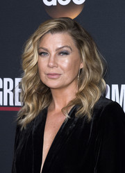 Ellen Pompeo looked fab with her high-volume waves at the 'Grey's Anatomy' 300th episode celebration.