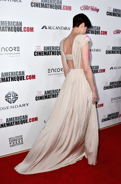 More Pics of Katherine Waterston Cutout Dress (2 of 10) - Katherine Waterston Lookbook - StyleBistro