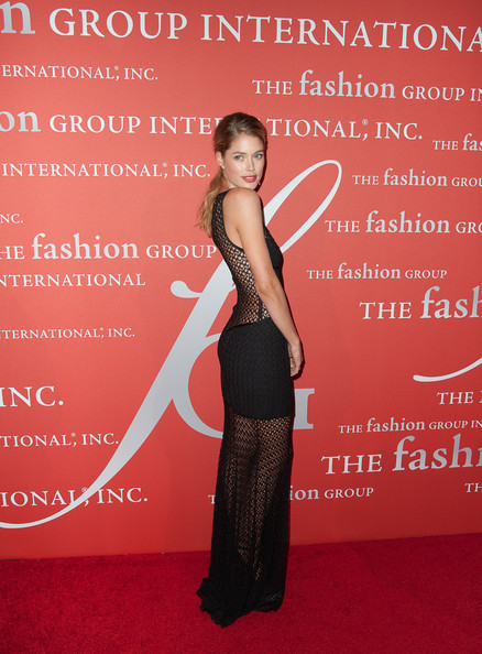 More Pics of Doutzen Kroes Evening Dress (1 of 4) - Evening Dress Lookbook - StyleBistro