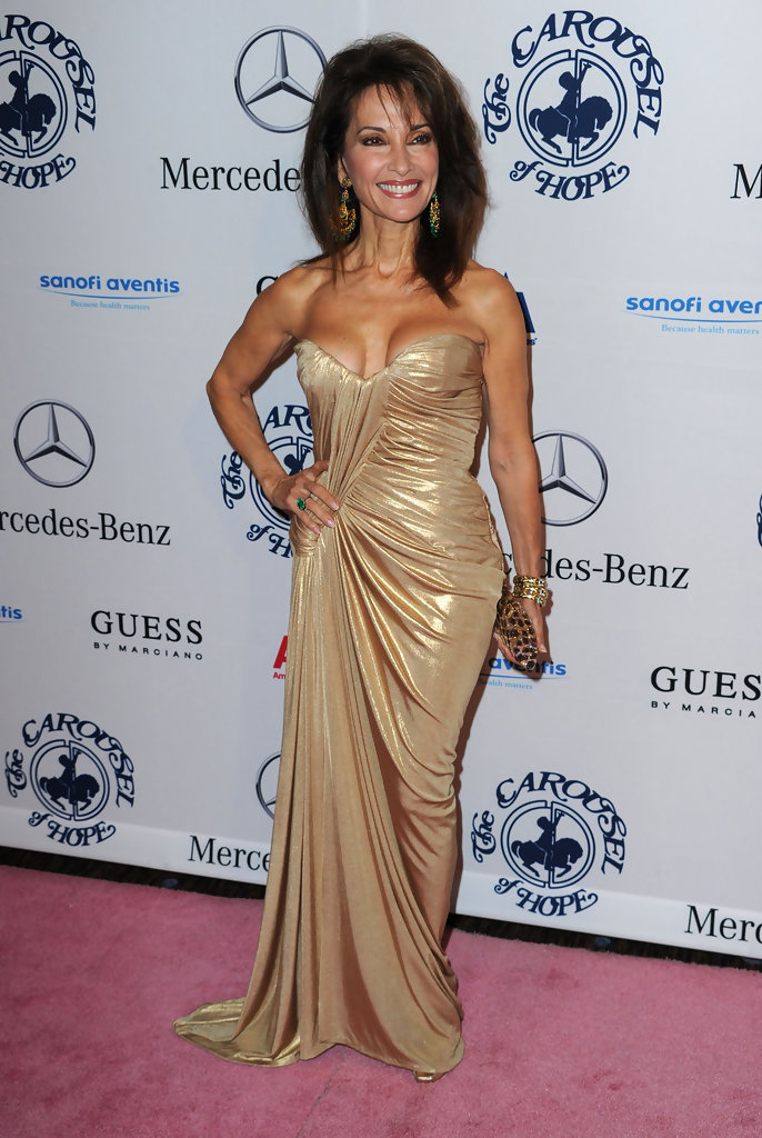 susan lucci best and worst dressed at the 2010 carousel