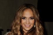 Jennifer Lopez Performs in a Glitzy Mini Dress