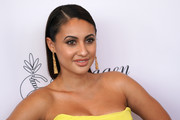Francia Raisa sported a slick shoulder-length 'do at the Imagen Awards.