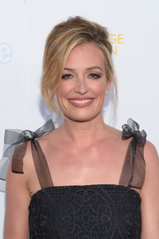 Cat Deeley wore a sexy teased updo to the College Television Awards.