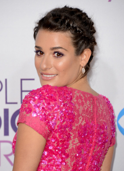 More Pics of Lea Michele Lipgloss (4 of 33) - Lipgloss Lookbook - StyleBistro
