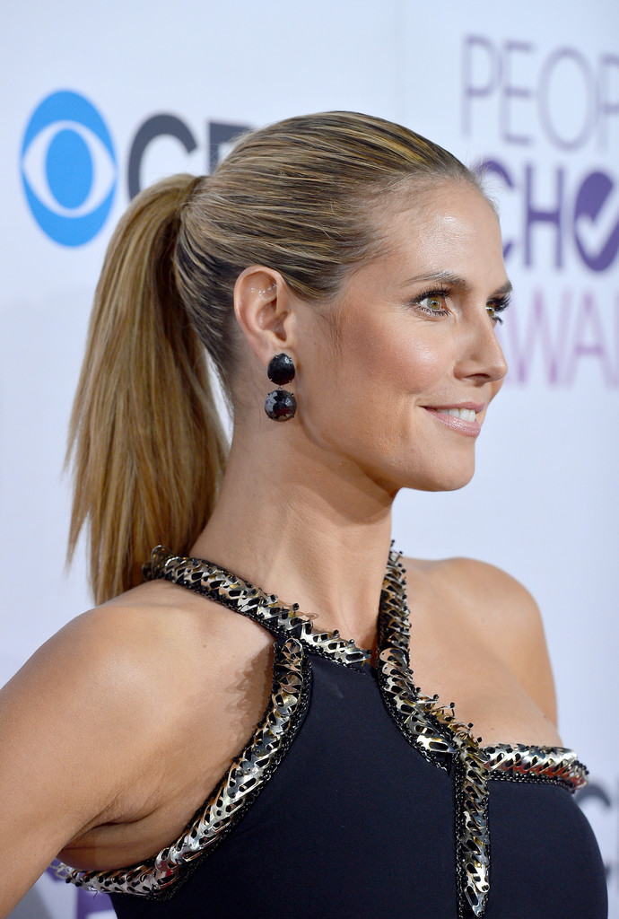 TV personality Heidi Klum attends the 34th Annual People's Choice Awards at Nokia Theatre L.A. Live on January 9, 2013 in Los Angeles, California.