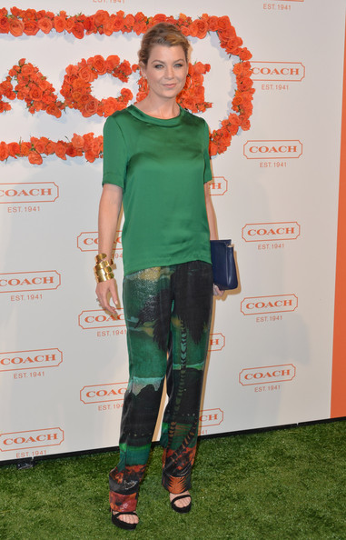 Ellen Pompeo at the 3rd Annual Coach Evening to Benefit Children's Defense Fund