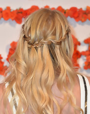 Jennifer Morrison's blonde locks had an almost princess-like look to them with this delicately braided 'do.