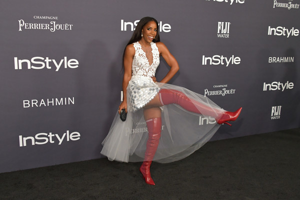 More Pics of Kelly Rowland Over the Knee Boots (1 of 6) - Boots Lookbook - StyleBistro