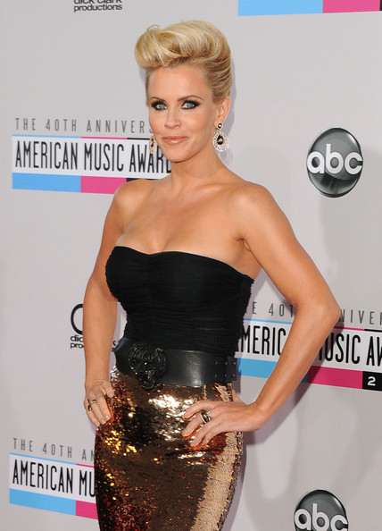 More Pics of Jenny McCarthy Gold Dangle Earrings (2 of 31) - Jenny McCarthy Lookbook - StyleBistro