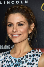 Maria Menounos was fairytale-chic with her crown braid at the Gracies Awards.
