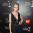 Hunter King at the Daytime Emmys