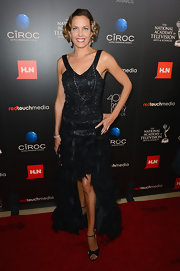 Arianne Zucker opted for an Art Deco-inspired look with this high-low fishtail dress with a sequined bodice.