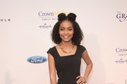 Yara Shahidi Little Black Dress