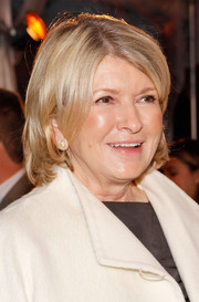 Martha Stewart opted for a simple bob when she attended the Kips Bay Decorator Show House opening.