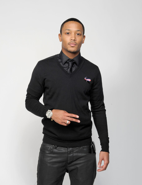 More Pics of Romeo Miller V-neck Sweater (1 of 5) - Romeo Miller Lookbook - StyleBistro